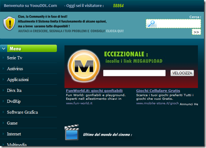 chat no registrazione programma video